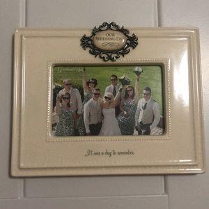 Other - Ceramic Wedding Photo Frame